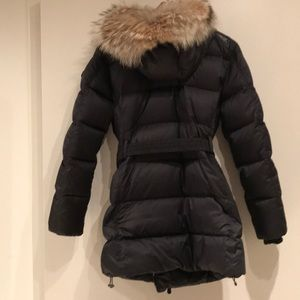 Coach Fur Down Coat
